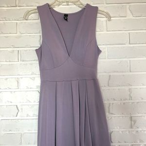 Size S Windsor V-neck tank top lavender dress